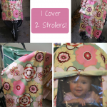 Jogging Stroller Cover Tutorial