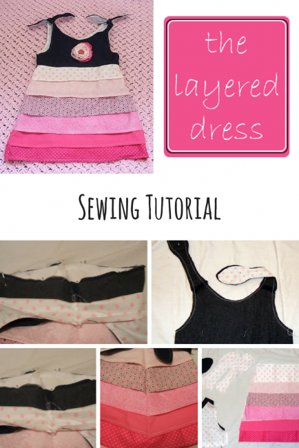 Layered Dress Sewing Pattern