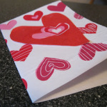Be Mine Valentine: Tissue Paper Card Tutorial