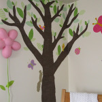 Fabric Tree Nursery Decor