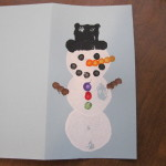 Kids Snowman Craft