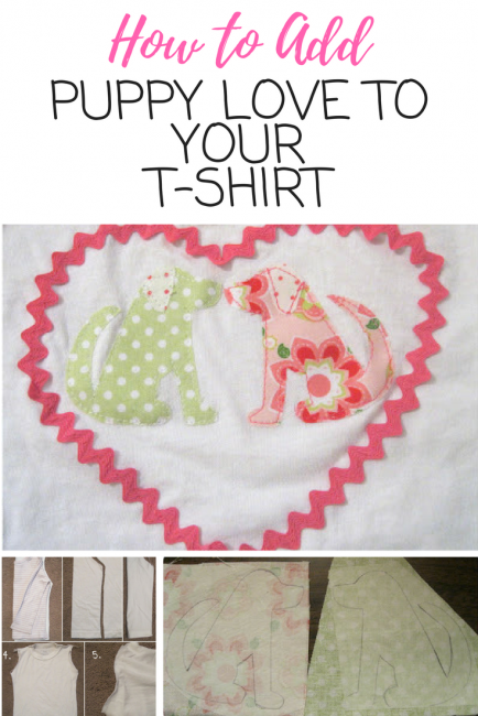 Puppy Shirt Tutorial