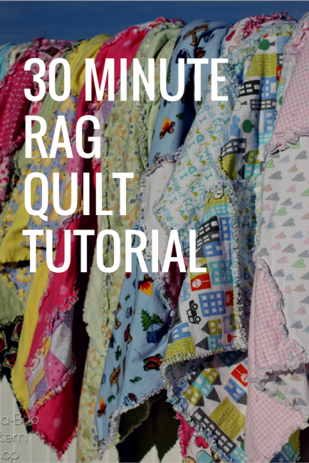 Rag Quilt Pattern Tutorial 30 Minutes To Make These Amazing Rag Quilts