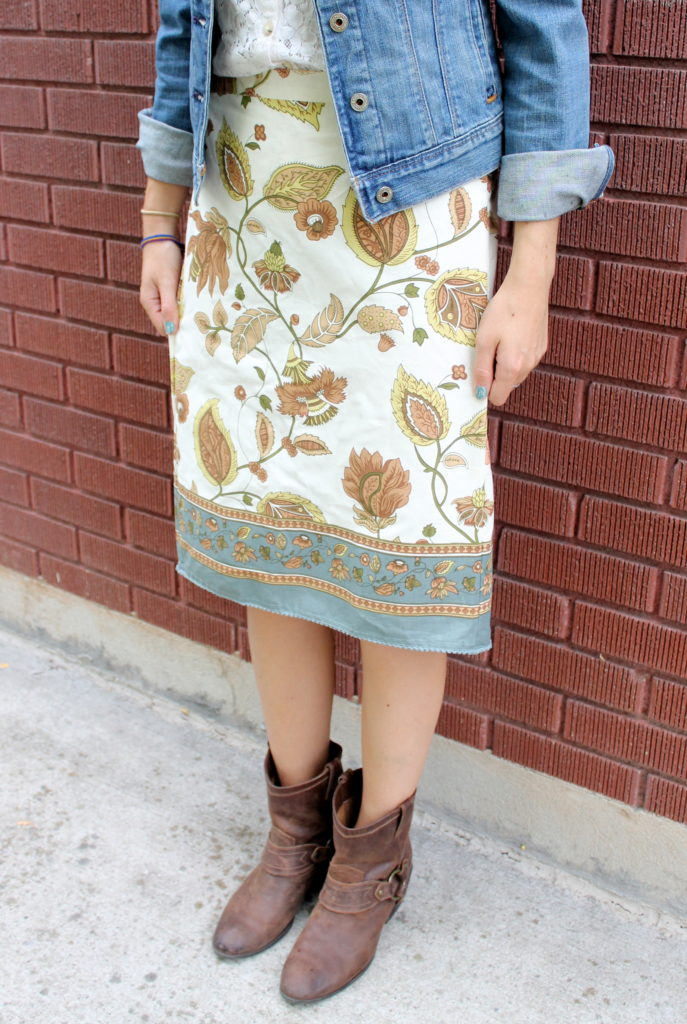 Free Dish Towel Skirt Tutorial Peek A Boo Pages