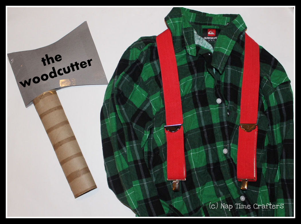 Woodcutter Costume Idea Peek A Boo Pages Sew Something Special