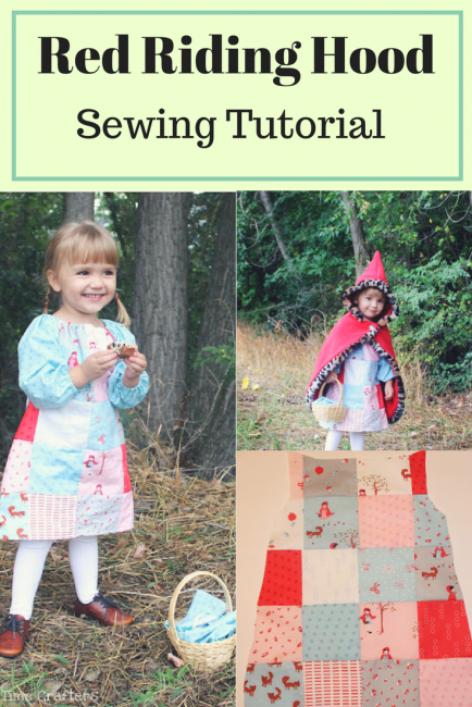 Red Riding Hood Costume Tutorial