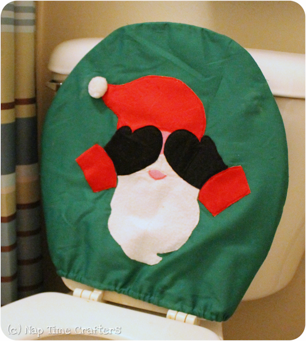 Santa Seat Cover Peek A Boo Pages Patterns Fabric Amp More