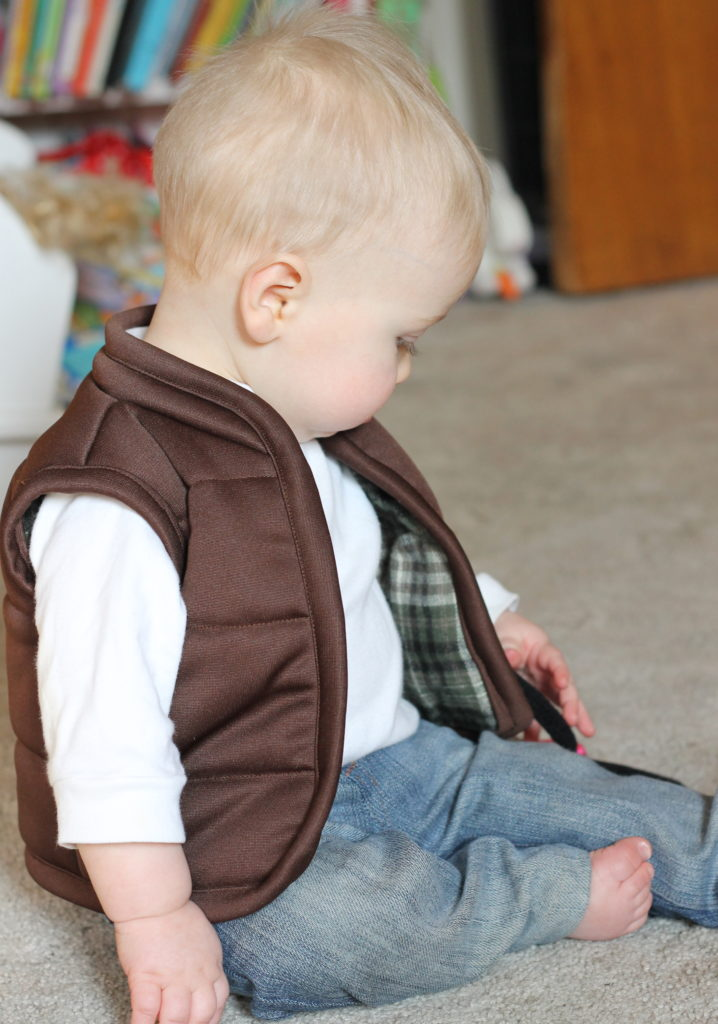 Baby Ski Bum And Puffy Vest Tutorial Peek A Boo Pages