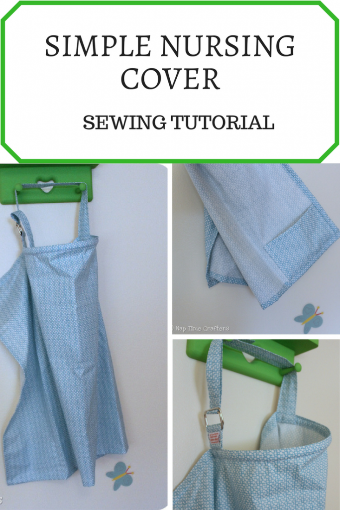 Simple Fabric Book Cover Tutorial ~ Simple nursing cover tutorial peek a boo pages