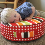 Tutorial: Toddler Floor Pillows
