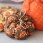 Fabric Pumpkins Tutorial
