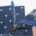 Skinny Jeans Sew Along Day 2: Zip Fly Tutorial and Pockets