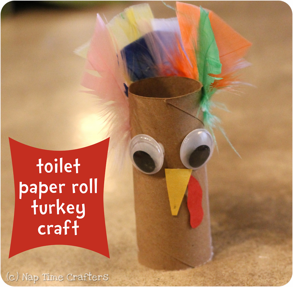Easy turkey craft peek a boo pages patterns fabric for Toilet paper roll crafts thanksgiving