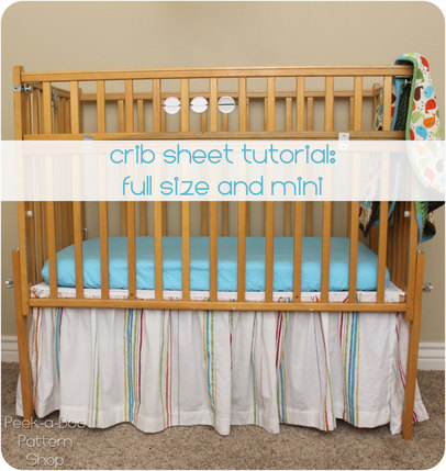crib sheet tutorial