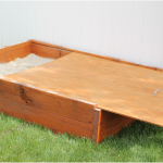 DIY Sandbox with Lid