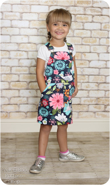 Oopsy Daisy Overalls Jumper Sewing Pattern Is Here Peek A Boo