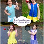 Posey princess dress tutorial collage