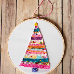 Mini Embroidery Hoop Ornaments