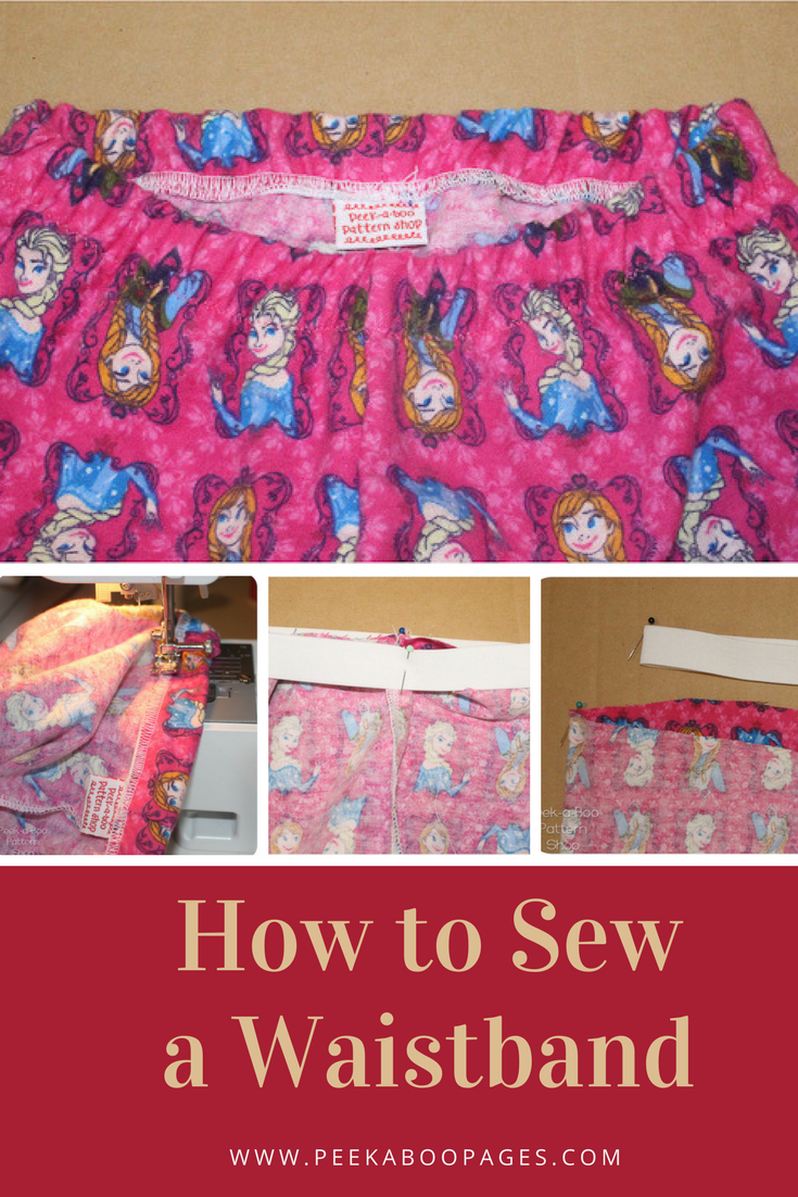 How to Sew a Waistband