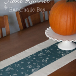 Quick Pieced Fabric Table Runner Tutorial