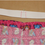 how to sew a waistband with elastic