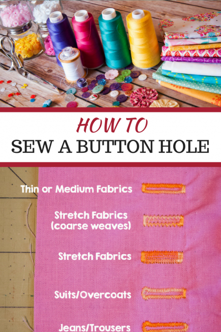 tips on how to sew a button hole