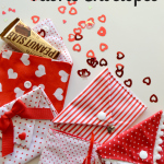 Valentine Fabric Envelopes Tutorial