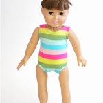Free 18″ Doll Swimsuit & Leotard Pattern