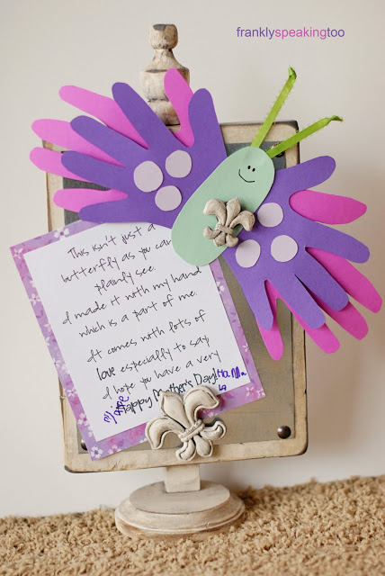 10 Handprint Crafts for Mothers DayPeek-a-Boo PagesSew