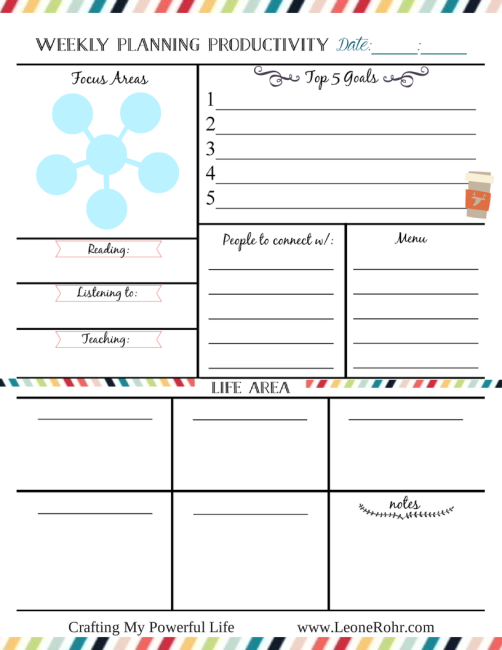 Free Printables to Help You Get Organized - Peek-a-Boo Pages - Sew ...