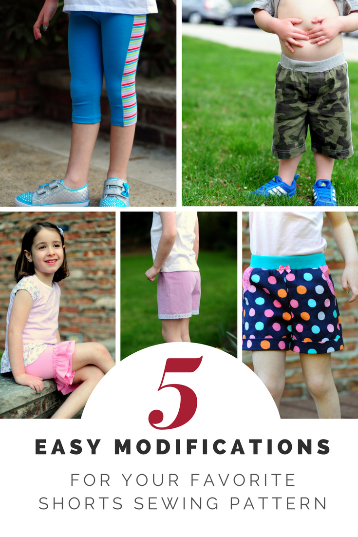 altering shorts sewing patterns