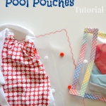 Clear Vinyl Beach & Pool Pouches Tutorial