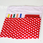 Summer Sketching Supplies Pouch