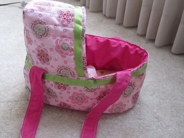 Sew Doll Bassinet