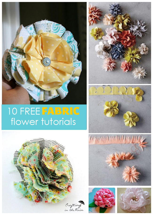 fabric hairbows