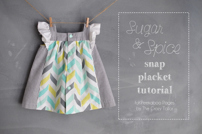 Sugar & Spice snap placket