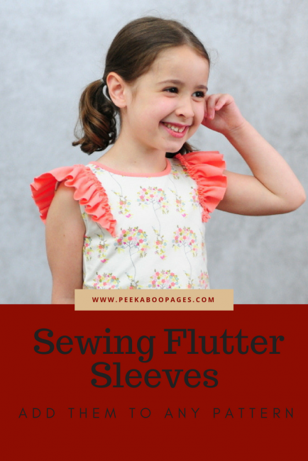Add Flutter Sleeves To Your Favorite Knit Shirt Patterns Peek A