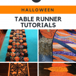 6 Halloween Table Runner Tutorials