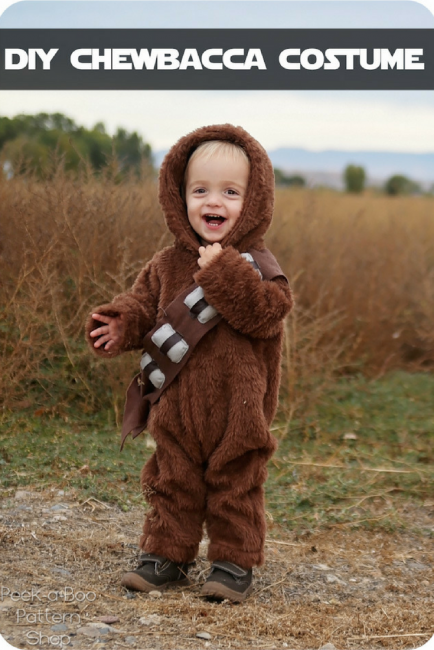 Diy Chewbacca Costume Peek A Boo Pages Patterns Fabric More