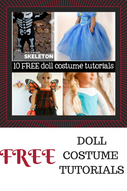 FREE Doll Costume Tutorials