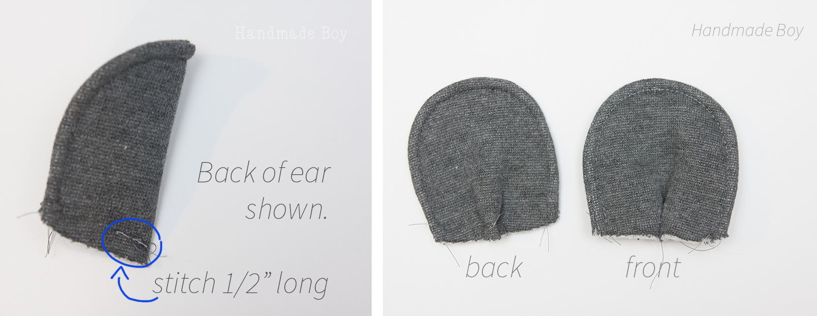 How to Add Animal Ears to Hats and Hoods - Peek-a-Boo Pages ...