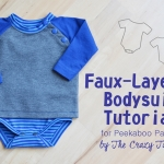 Faux-layered Bodysuit Tutorial