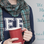 DIY Cozy Flannel Scarf