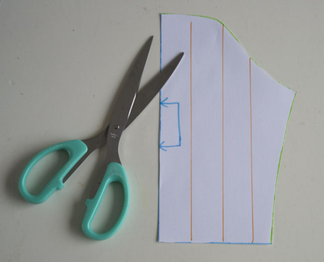 Flutter Sleeve Tutorial by Pienkel for Peek-a-Boo Pages