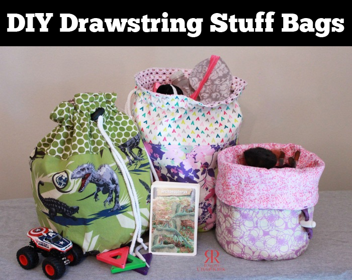 DIY Drawstring stuff bag