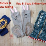 Kids Undies & Socks Sew Along Day 5: Cozy Critter Socks