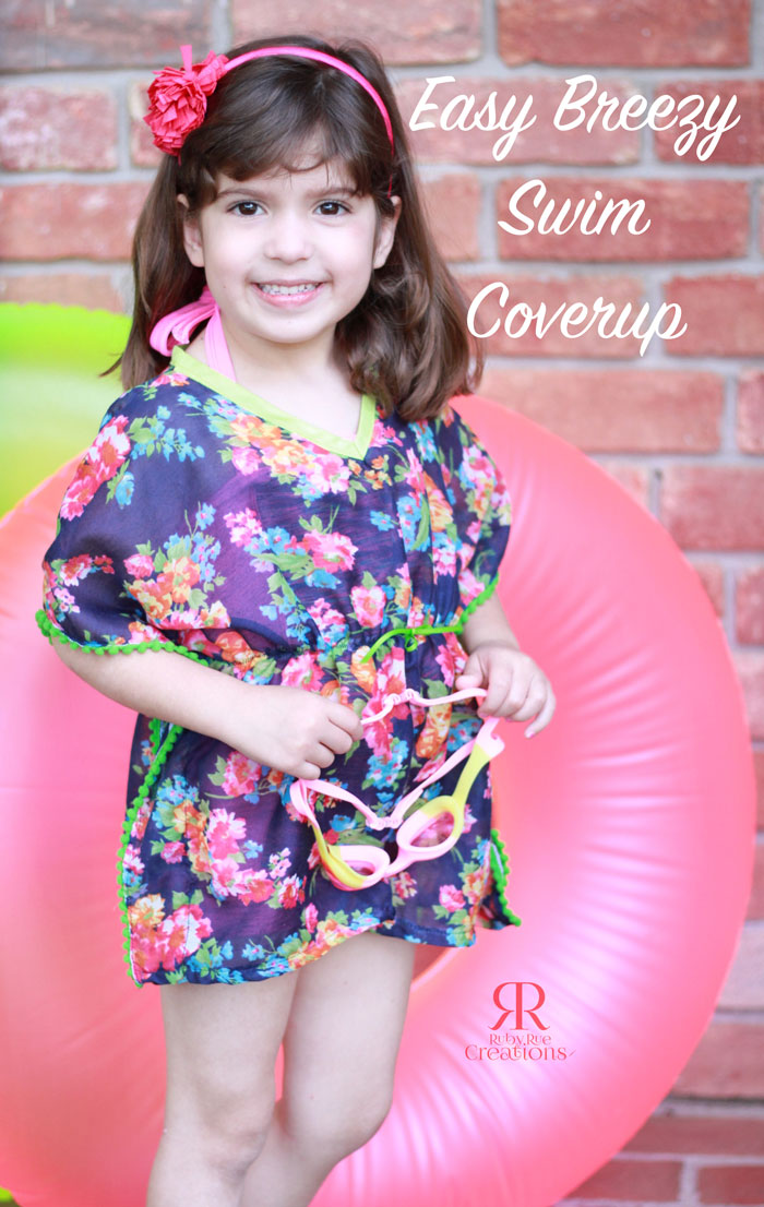 easy breezy swim coverup tutorial - peek-a-boo pages