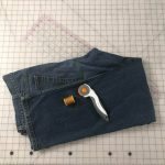 How to hem denim pants