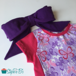 How to Sew and Tie a Big Bow Headband