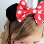 Minnie Mouse Bow and Ears Headband Tutorial